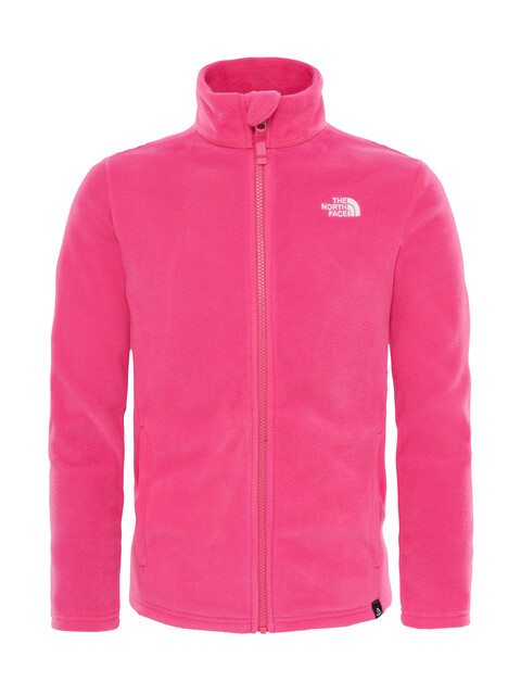 The North Face Snow Quest Full Zip Fleece Shirt Children Petticoat Pink